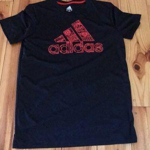 Boys basketball Adidas shirt